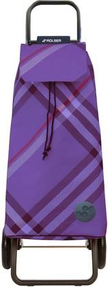 Сумка-тележка хозяйственная фиолетовая Rolser RG MOUNTAIN MOU076more
