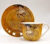 Чайная пара Импрессионисты Климт Золотая Адель 350мл The Leonardo Collection LP92686