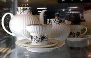 Сервиз чайный 6/20 Тонкие веточки 1 (с отводкой), ф. Волна ИФЗ 81.20897.00.1