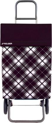 Сумка-тележка хозяйственная чёрная Rolser RG JEA021negro