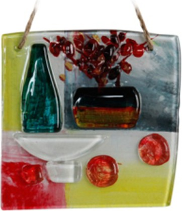 Миниатюра стеклянная Арс Витае 15x15см Top Art Studio LG1237-TA
