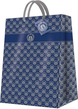 Пакет подарочный Королевский (синий) 30x41x12см Paw AGB019102