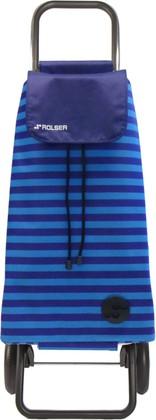 Сумка-тележка хозяйственная синяя Rolser LOGIC RG PAC040azul
