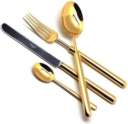Столовые приборы, 24пр. Cutipol BALI GOLD 9311