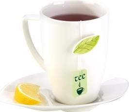 Чайная кружка с блюдцем Tescoma Yasmin 387590