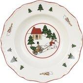 Тарелка суповая 22см Рождественская деревенька Masons 56533401007