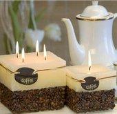 """Свеча """"Кофе"""", шар, диаметр 10см Bartek Candles 5907602648102"""