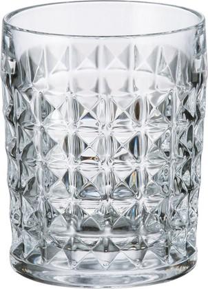 Стаканы для виски Диаманд 230мл, 6 шт Crystalite Bohemia 2KE38/0/99T41/230