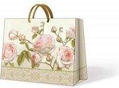 "Пакет подарочный ""Романтичная роза"", 33x26.5x13.5см Paw AGB014106"