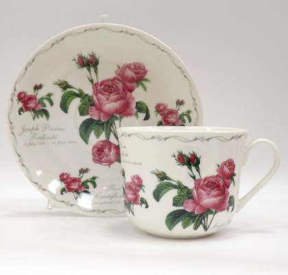 Чайная пара Роза Редаут, 400мл The Leonardo Collection LP91478