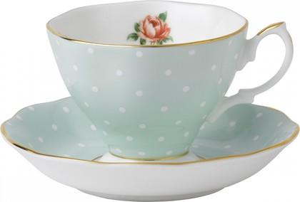 Чайная пара Полька Роуз, 180мл Royal Albert POLROS26135