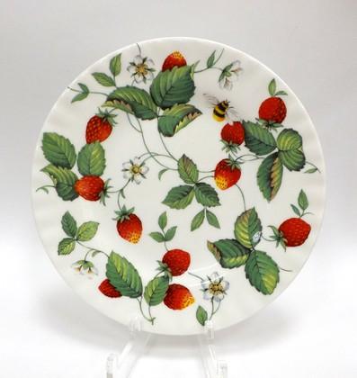 Тарелка десертная Альпийская Земляника 20см Roy Kirkham XALP1270