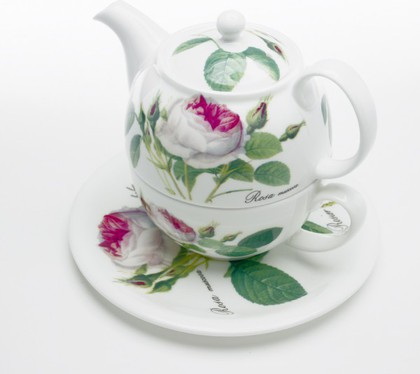 "Чайный набор персональный ""Роза Редаут"", 400 мл Roy Kirkham XROSA1201"