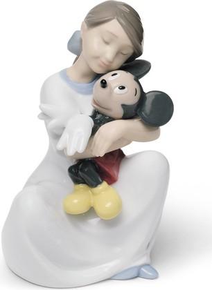 Статуэтка фарфоровая Мой Любимый Микки Маус (I Love You Mickey) 14см NAO 02001641