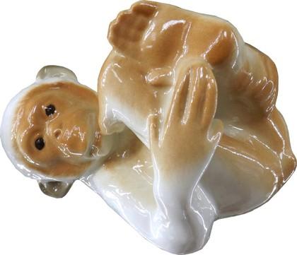 Скульптура Обезьянка N 1, 8см, фарфор ИФЗ 82.02421.00.1