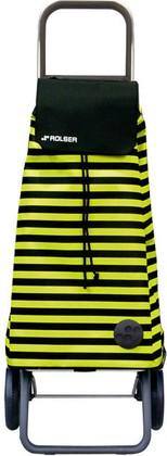 Сумка-тележка хозяйственная чёрно-жёлтая Rolser RG MOUNTAIN MOU086negro/lima