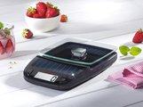 Весы электронные кухонные на солнечной батарее чёрные 5кг/1гр Soehnle Easy Solar 66188
