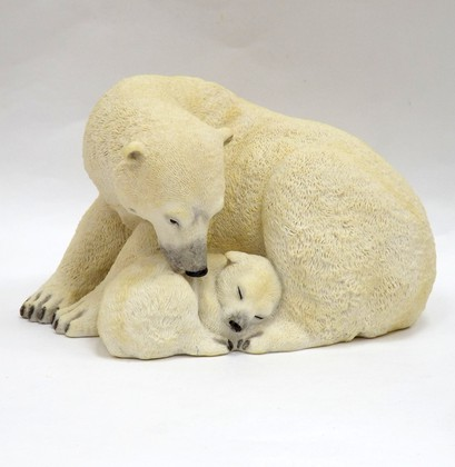 Статуэтка Полярные медведи - под надёжной защитой, 11.4см Widdop Bingham WS0834-TA