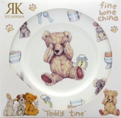 """Тарелка для мальчика """"Время с Тедди"""", 20см Roy Kirkham XTED1392"""