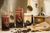 "Свеча ""Кофе"" колонна 7х14cм Bartek Candles 5907602648652"