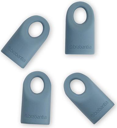 Силиконовые колпачки 4шт., голубые Brabantia 464027