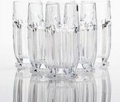 Набор стаканов для воды Сафари 6шт, 300мл Crystalite Bohemia 2KD67/0/99R83/300