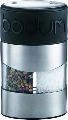 Мельница для соли и перца, чёрная Bodum TWIN 11002-01
