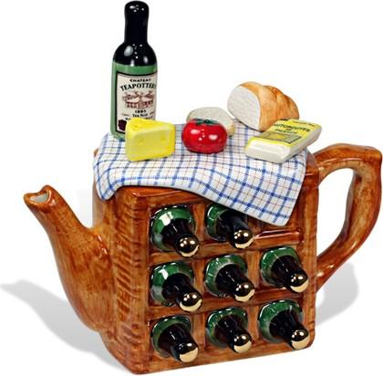 "Чайник коллекционный ""Пикник по-французски"" мини (French Picnic Teapot) The Teapottery 4425"