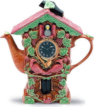"Чайник заварочный ""Часы с кукушкой"" The Teapottery 4417"