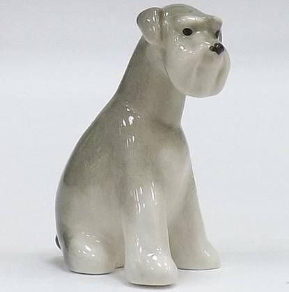 Скульптура Цвергшнауцер щенок Молли ИФЗ 82.83389.00.1
