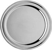 Поднос из нерж. стали полированный, диаметр 35см ВСМПО Гурман-Классик 553000