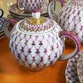 Сервиз чайный 6/20 Сетка-Блюз, ф. Тюльпан ИФЗ 81.15516.02.1