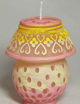 "Свеча ""Лампа"", с подсветкой, 11см Bartek Candles 177121"