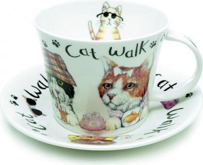 Чайная пара Коты модники, 450мл Roy Kirkham XANICAT1110