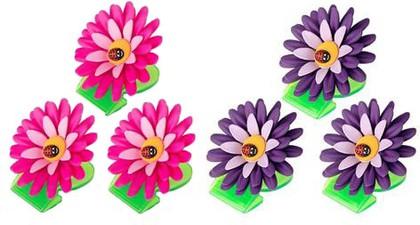 Зажимы для пакетов с магнитом, 3шт. Vigar Flower Power 5916