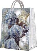 """Пакет подарочный """"Серебрянные игрушки"""" 26.5x33.5x13см Paw AGB028605"""