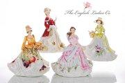 Статуэтка Весенняя надежда 22см English Ladies ELGELS04401