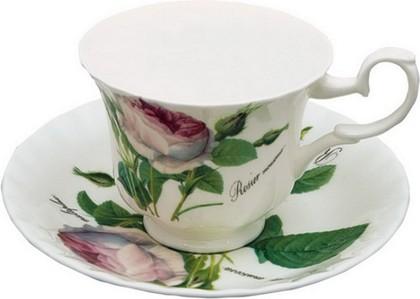 Чайная пара 230мл Роза Редаут Roy Kirkham XROSA1130