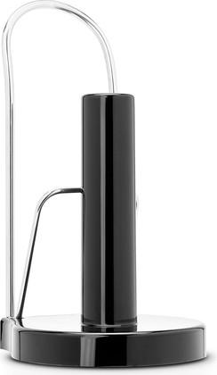 Держатель для бумажных полотенец, полированная сталь с чёрным Brabantia Profile 493546
