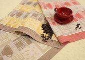 Набор полотенец Кофе 3шт. 45x70см Белорусский лён 13c295/116/1