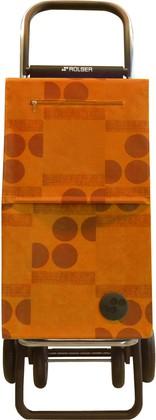 Сумка-тележка хозяйственная оранжевая Rolser QUATTRE.2 SBE002mandarina