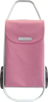 Сумка-тележка хозяйственная розовая ROLSER MF8 COH003rose