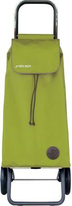 Сумка-тележка хозяйственная зелёный лайм Rolser LOGIC RG PAC001lima
