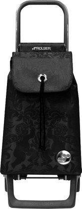 Сумка-тележка хозяйственная компактная чёрная Rolser JOY-1800 BABY BAB008negro