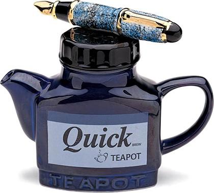 """Чайник коллекционный """"Чернильница"""" (Quick Ink Teapot) The Teapottery 4449"""