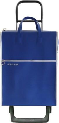 Сумка-тележка хозяйственная синяя Rolser JOY-1800 MNL001azul