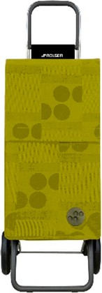 Сумка-тележка хозяйственная зелёный лайм Rolser RG PARIS PAR014lima