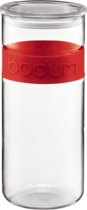 Банка для хранения 2.5л, красная Bodum PRESSO 11131-294