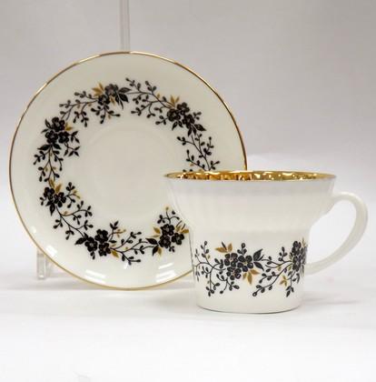 Чашка с блюдцем Тонкие веточки, ф. Волна ИФЗ 81.14403.00.1