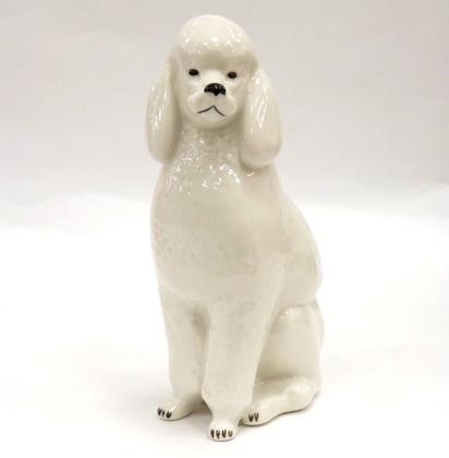 Скульптура Пудель, фарфор ИФЗ 82.00999.00.1